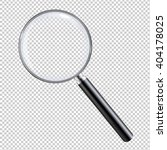 magnifying glass  with gradient ... | Shutterstock .eps vector #404178025