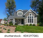 craftsman style vacation home... | Shutterstock . vector #404197081