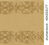 vector distressed antique... | Shutterstock .eps vector #404203177