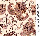floral pattern flourish tiled... | Shutterstock .eps vector #404216095