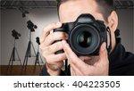 camera. | Shutterstock . vector #404223505