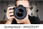 photographer. | Shutterstock . vector #404225197