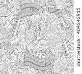 tracery seamless calming...   Shutterstock .eps vector #404242915
