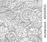tracery seamless calming... | Shutterstock .eps vector #404243521
