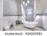 the interior of bathroom | Shutterstock . vector #404243581