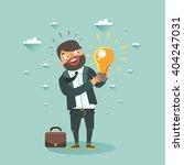 business man cartoon character... | Shutterstock .eps vector #404247031