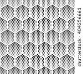 vector geometric halftone... | Shutterstock .eps vector #404256661