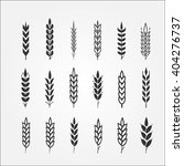 wheat ears for logo design | Shutterstock .eps vector #404276737