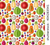 vector seamless pattern with... | Shutterstock .eps vector #404283541