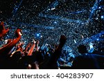 night party festival crowd of... | Shutterstock . vector #404283907