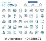 set vector line icons car... | Shutterstock .eps vector #404288671