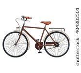old classic bicycle. vector... | Shutterstock .eps vector #404302501