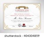 certificate template design... | Shutterstock .eps vector #404304859