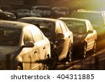 cars traffic closeup. urban...   Shutterstock . vector #404311885
