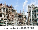 industrial factory | Shutterstock . vector #404322304