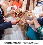 wedding celebration. hands... | Shutterstock . vector #404325067