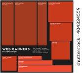 standard size vector web... | Shutterstock .eps vector #404334559