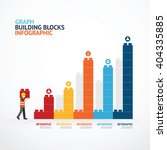 infographic template with ... | Shutterstock .eps vector #404335885