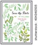 wedding graphic   flowers ... | Shutterstock .eps vector #404340505