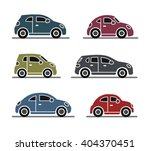 car icons | Shutterstock .eps vector #404370451