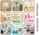 interior   room   Shutterstock .eps vector #404372839