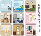 interior   room   Shutterstock .eps vector #404372851