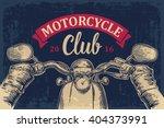 biker driving a motorcycle... | Shutterstock .eps vector #404373991