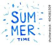 summer watercolor design....   Shutterstock .eps vector #404381509