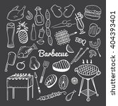 vector hand drawn doodle of... | Shutterstock .eps vector #404393401