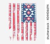 America Flag Ethnic Indian...