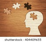 mental health symbol. human... | Shutterstock . vector #404409655
