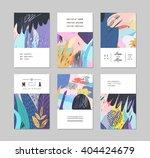set of creative universal... | Shutterstock .eps vector #404424679