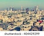 old town of tel aviv  israel .... | Shutterstock . vector #404429299