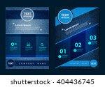 business brochure flyer design... | Shutterstock .eps vector #404436745