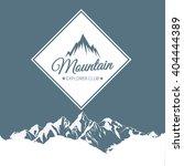 mountain logos | Shutterstock .eps vector #404444389