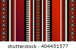 Red Theme Arabian Sadu Weaving...