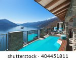 Terrace With Pool And Lake Vie...
