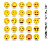 emotions vector illustration... | Shutterstock .eps vector #404452489