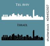 tel aviv  israel | Shutterstock .eps vector #404452507