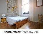 bedroom area in modern stylish... | Shutterstock . vector #404462641