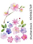 collection decorative design of ...   Shutterstock . vector #404463769
