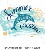 summer vacation illustration... | Shutterstock .eps vector #404471305