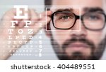 Male Face And Eye Chart....
