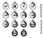 the stopwatch icon  set of 14...