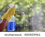 cleaning windows | Shutterstock . vector #404505961