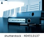 optimization plan   office... | Shutterstock . vector #404513137