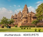 famous indian madhya pradesh... | Shutterstock . vector #404519575