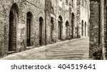 old town of san gimignano  ... | Shutterstock . vector #404519641