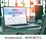 video production concept.... | Shutterstock . vector #404538721