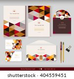 corporate identity.vector... | Shutterstock .eps vector #404559451